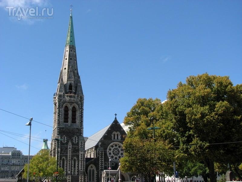 В стране антиподов. Немного Крайсчерча / Фото из Новой Зеландии