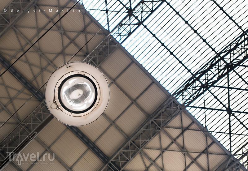 Стеклянное небо инженера Шухова. Москва. Киевский вокзал / Фото из России