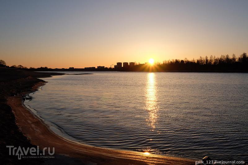 Иваньковское водохранилище, апрель / Россия