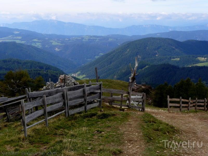 Прощание с Доломитами / Фото из Италии