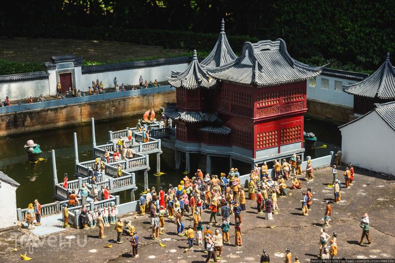 Китай, Шэньчжэнь: парк Splendid China Folk Village / Фото из Китая