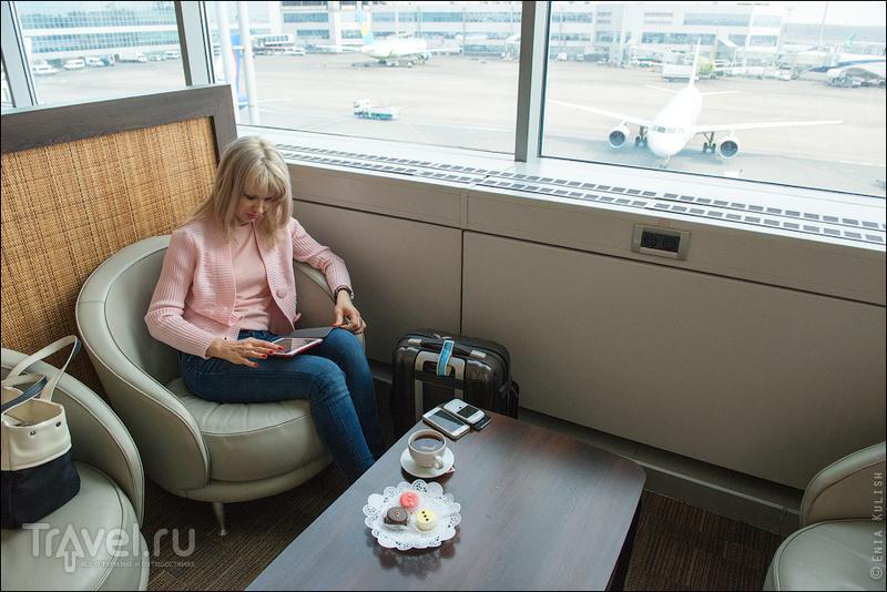 Бизнес-зал аэропорта Домодедово / Россия