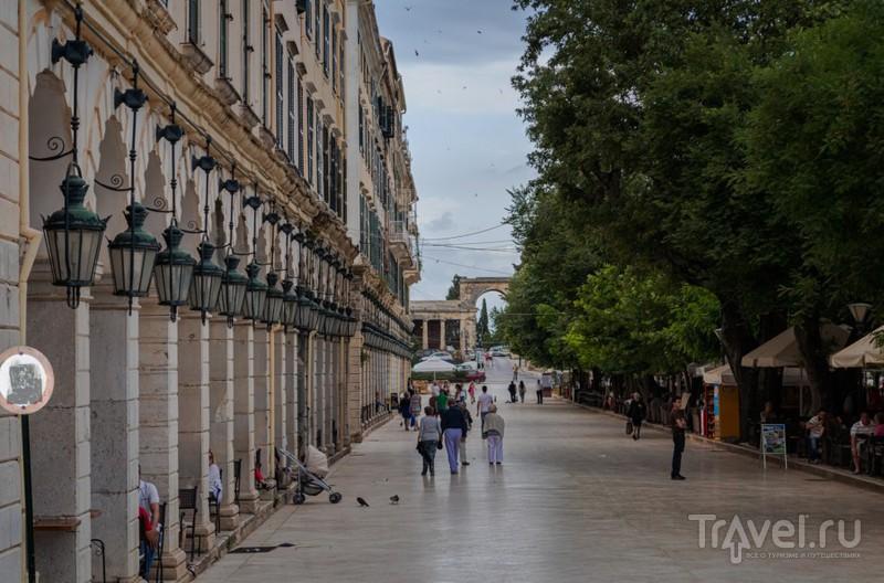 Корфу - прогулка по столице / Греция