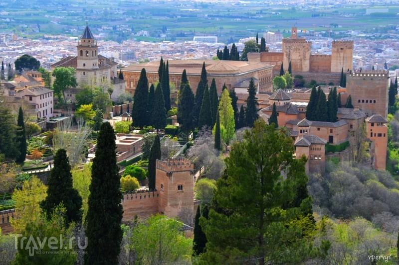 За четыре часа в Гранаде / Испания