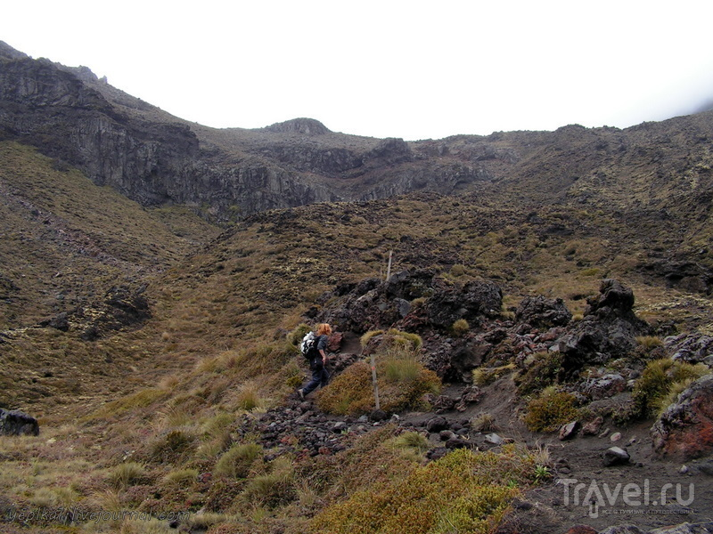 В стране антиподов. Тонгариро кроссинг - самый лучший день в Новой Зеландии! / Фото из Новой Зеландии