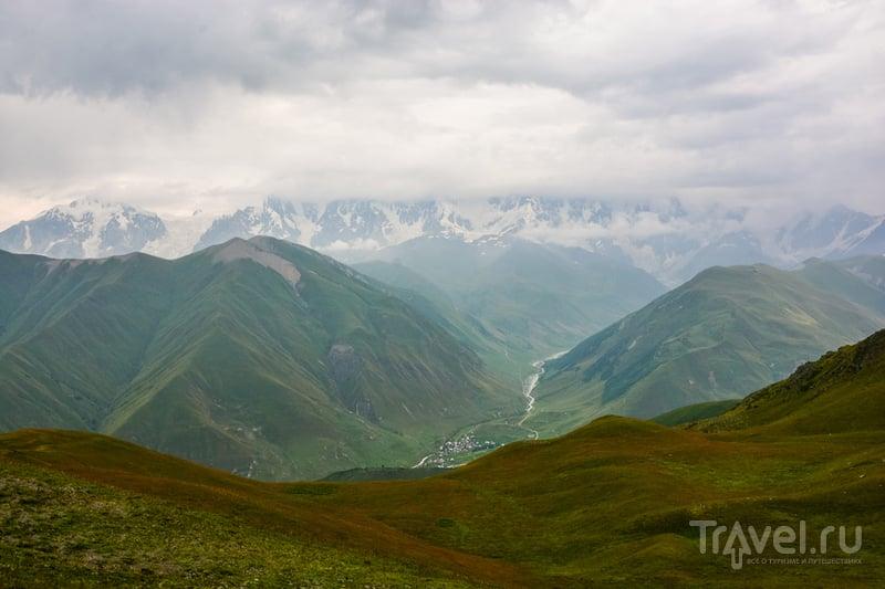 Отпуск по-грузински. Сванский хребет / Фото из Грузии