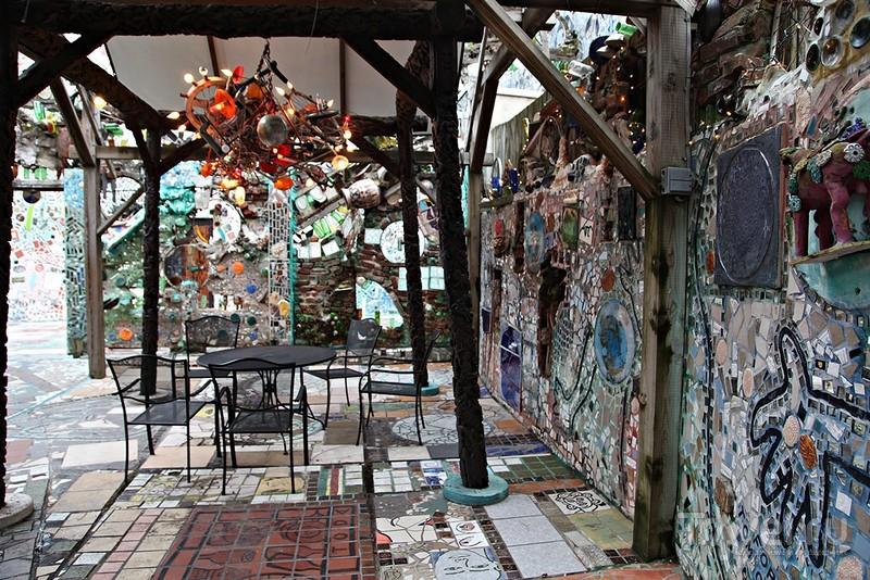 """""""Волшебные сады"""" Филадельфии / Фото из США"""