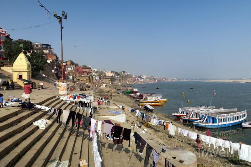 Индия: Гхаты Варанаси - жизнь и смерть у священного Ганга / Фото из Индии