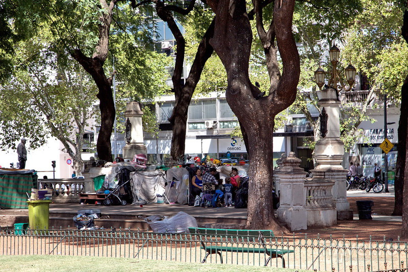 Дворец и площадь Национального Конгресса / Фото из Аргентины