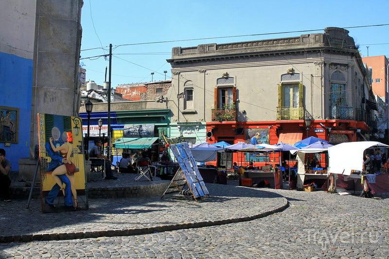 Ла-Бока - самый яркий район Буэнос-Айреса / Фото из Аргентины