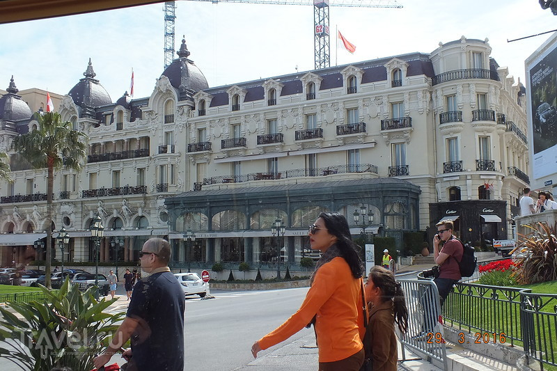 Монако. Туристический паровозик / Монако