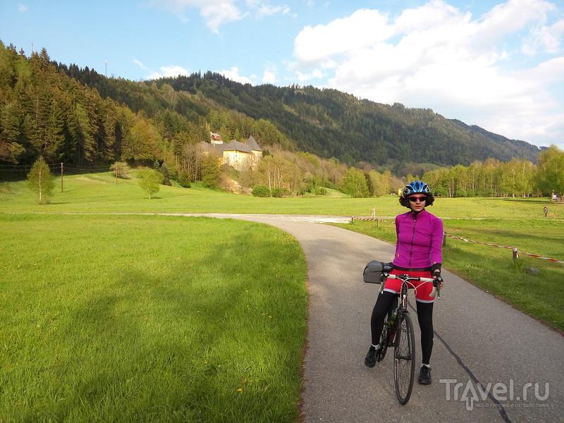 От Вены до Венеции на велосипеде / Словения