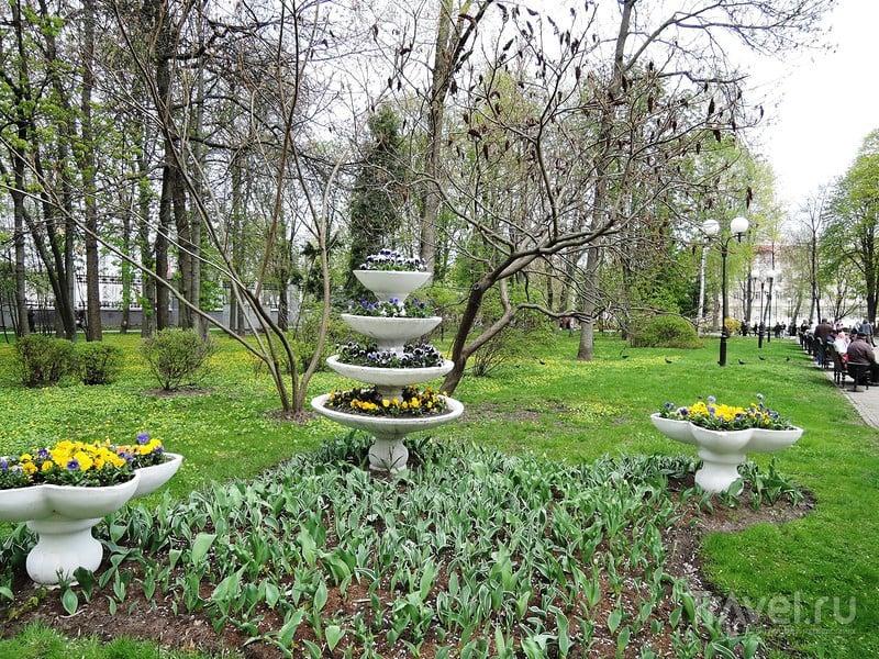 Гомель. Дворцово-парковый комплекс Румянцевых-Паскевичей. Парк / Белоруссия