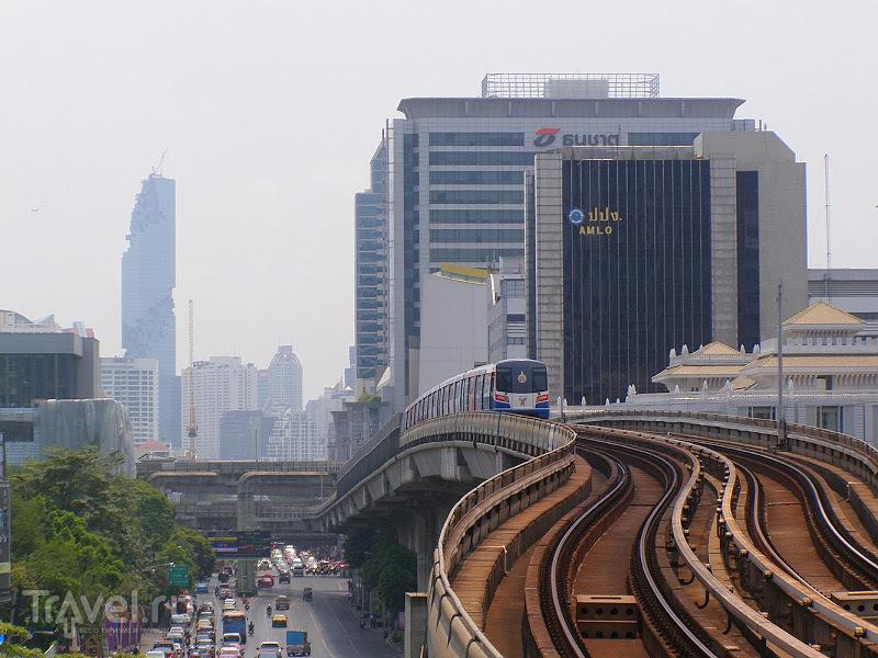 Небесные поезда Бангкока / Таиланд