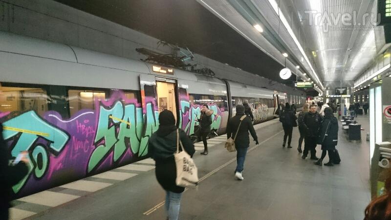 На поездах через Швецию / Швеция