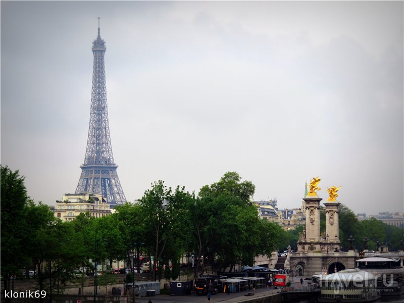 Увидеть Париж и... улететь / Франция