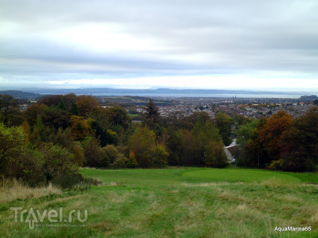 Прогулка по Swanston, Edinburgh / Великобритания