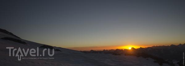 Восхождение на Эльбрус с юга в cентябре / Россия