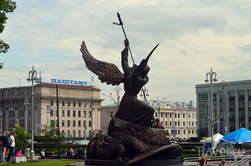 Экскурсия по центру Минска / Белоруссия