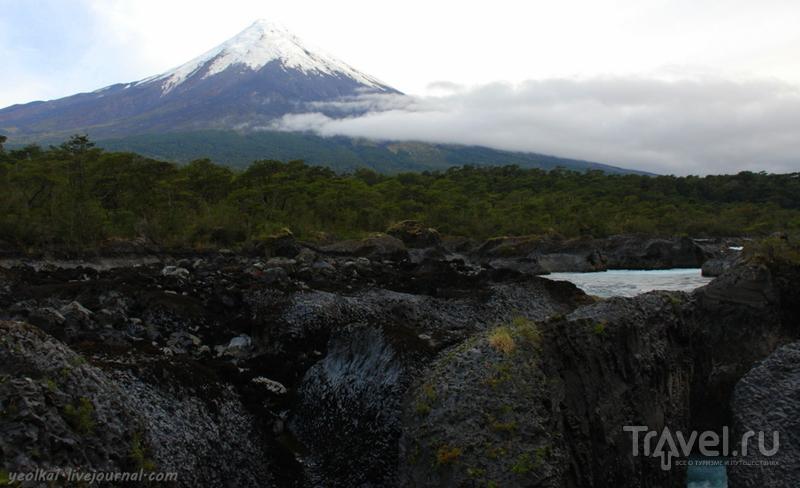 Чили - сбыча мечт! Край вулканов и озер. Водопад Петроуэ / Фото из Чили