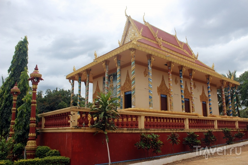 Камбоджа: Банлунг, водопад Cha Ong / Камбоджа