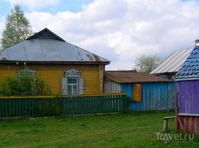 Украина. По дорогам Черниговской области. Дома у дороги / Украина