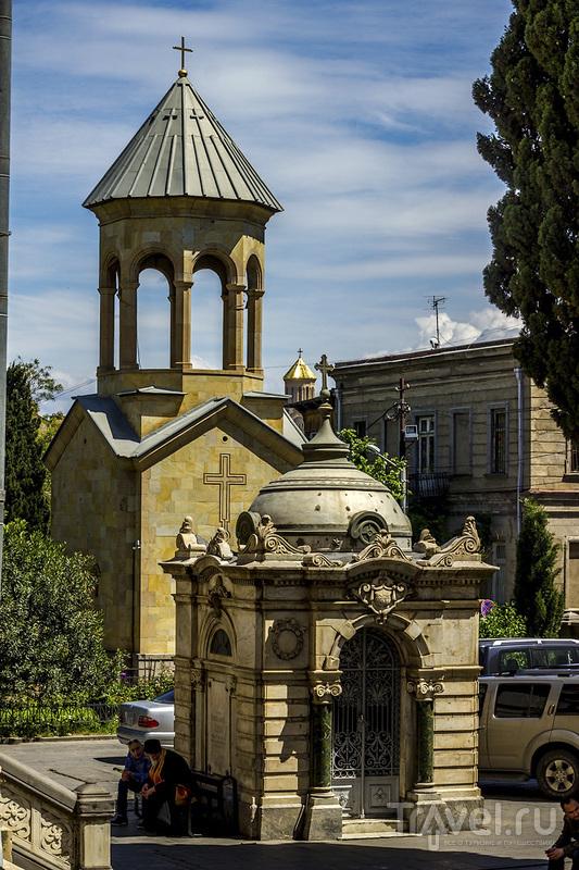 Прогулка по главной улице Тбилиси / Фото из Грузии