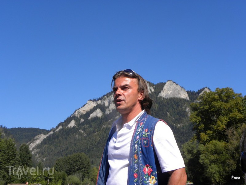 Словацкий Рай - просто рай! Пиенины - сплав на плотах / Фото из Словакии