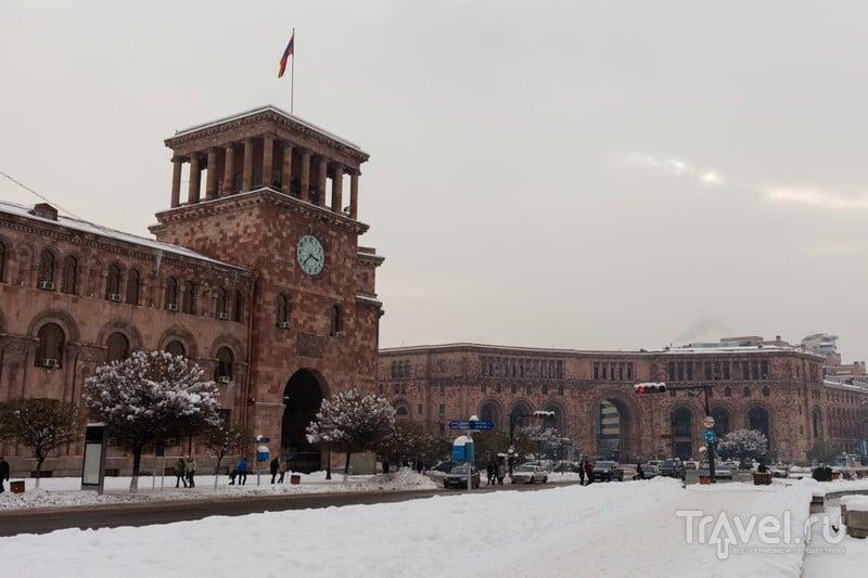 Пять дней зимой в Армении, январь 2016 / Фото из Армении