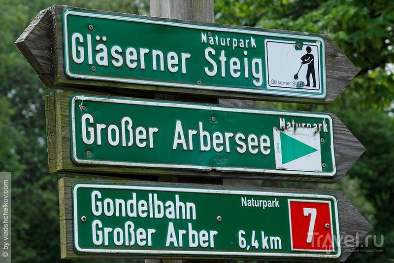 Дорога в 6,5 км до отметки в 1054 метра / Германия