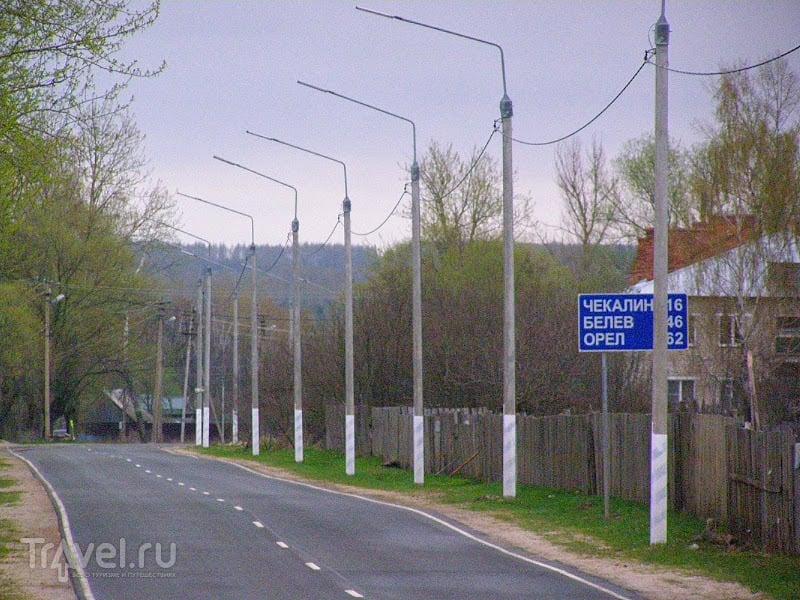 Тульская обл. Поселок Песоченский и останки Митин завода / Россия