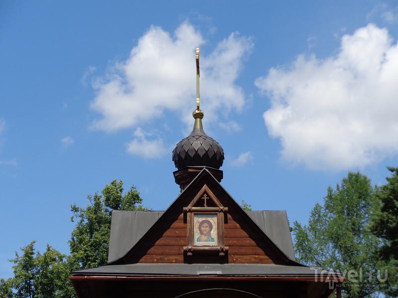 Скит и купальня с источником Преподобного Саввы в Звенигороде / Россия