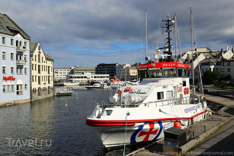 Восставший из пепла. Олесунн, Норвегия / Фото из Норвегии
