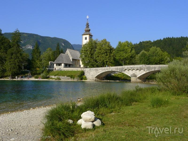 Словения - Хорватия без городов. Озера Бохиньско и Бледско / Фото из Словении