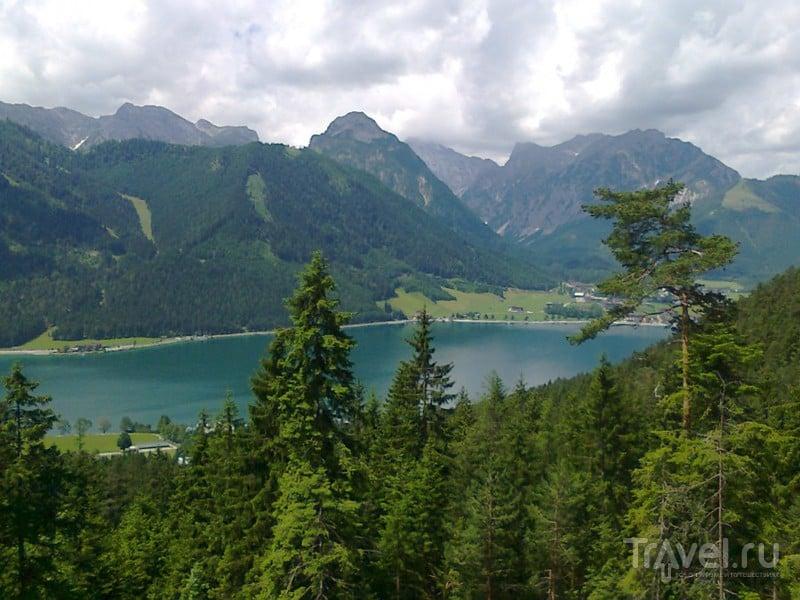 Поездка в Тироль: водопад Дальфацер (Dalfazer) и Волчье ущелье (Wolfsklamm) / Фото из Австрии