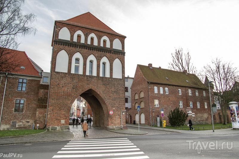 Штральзунд, по улочкам старого города / Фото из Германии