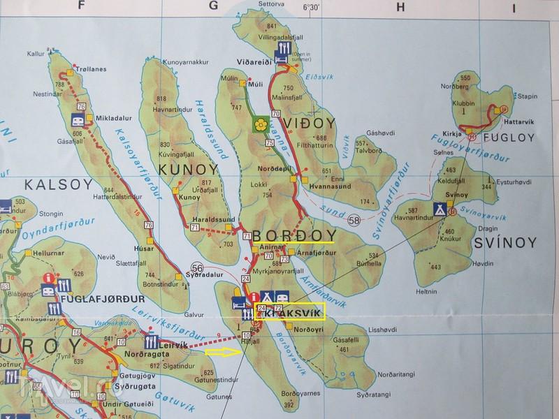 Фарерские острова. Острова Борой (Borðoy), Вийой (Viðoy), Куной (Kunoy) / Фарерские острова