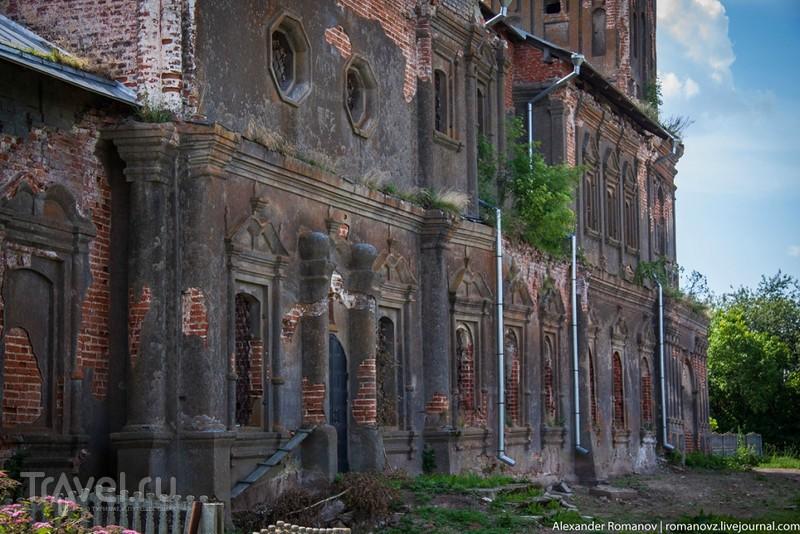 Нарышкинское барокко в Суздальской глубинке / Фото из России