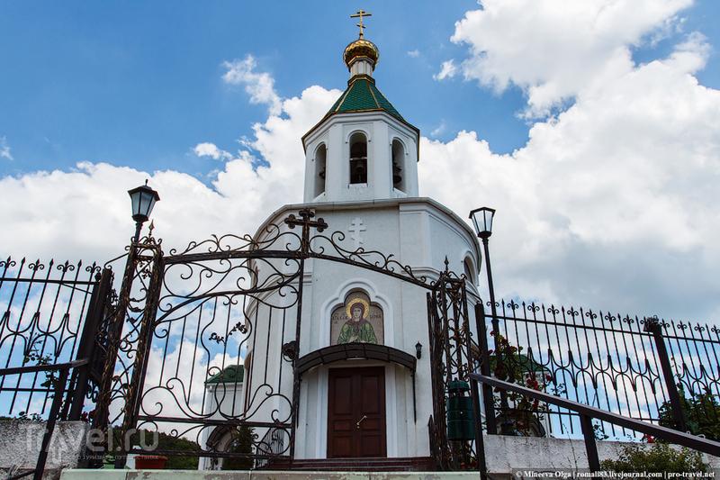 Церковь Ксении Петербургской в Абрау-Дюрсо