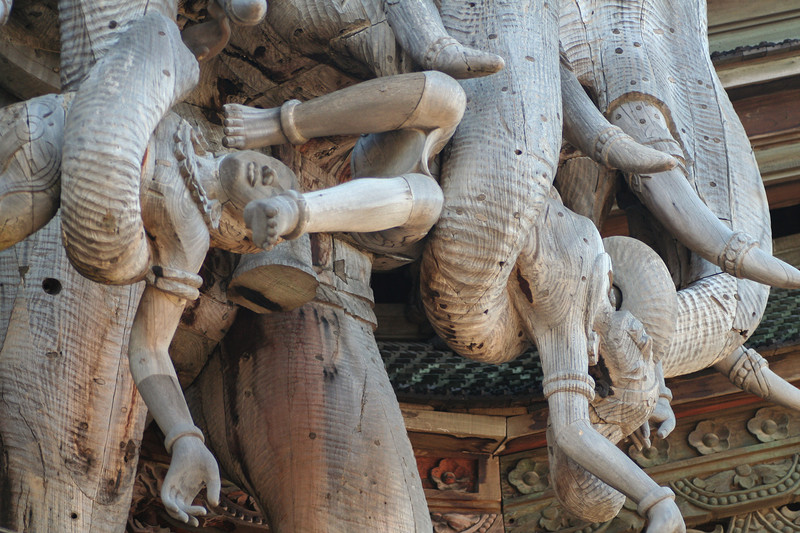 Храм Истины в Паттайе / Таиланд