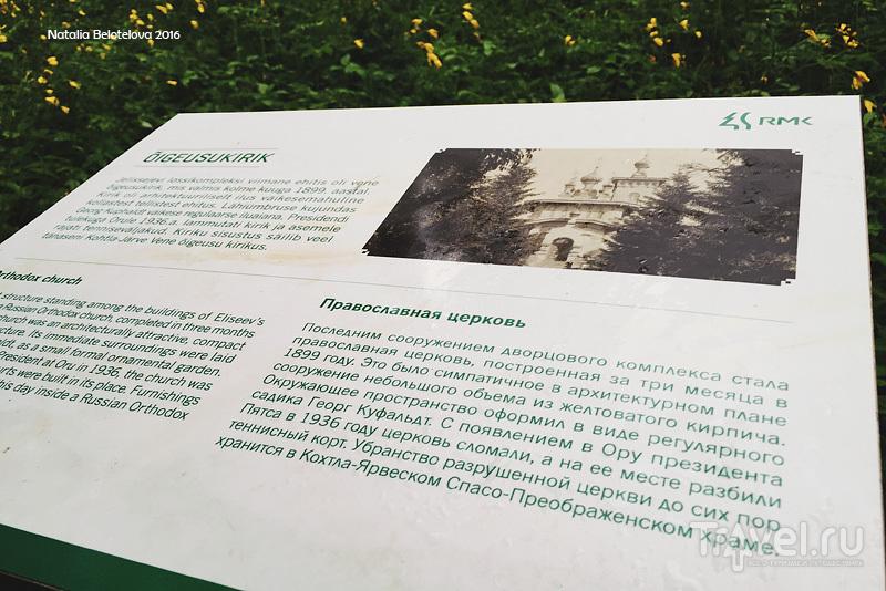 Парк Ору в Тойла, Эстония / Эстония