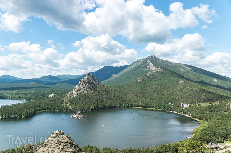 Казахстан. Природный парк Бурабай (Боровое). Над Голубым заливом... / Фото из Казахстана