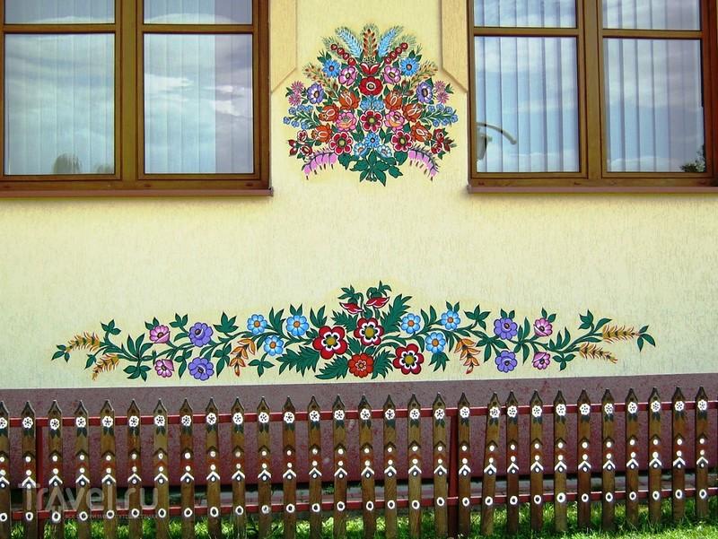 Размалеванное село Залипье / Польша