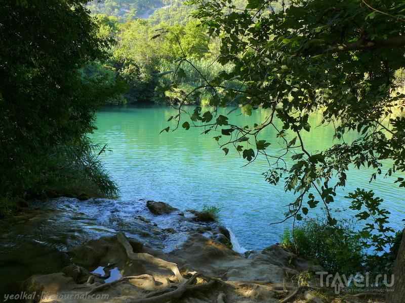 Словения - Хорватия без городов. Много, много, очень много воды в парке Крка / Фото из Хорватии