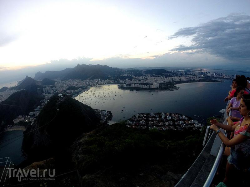 Бразилия. Рио-де-Жанейро. Pão de Azúcar / Бразилия