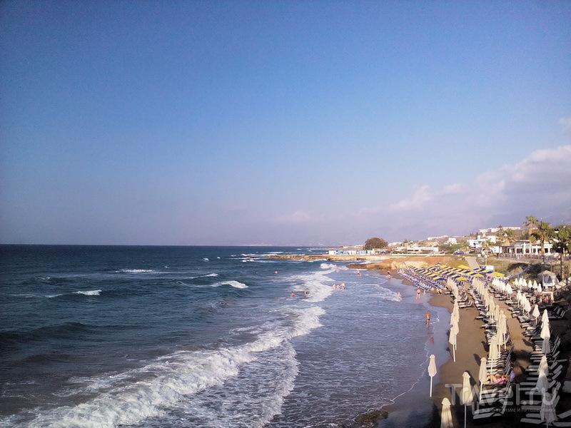 Пляж рядом со StarBeach / Греция