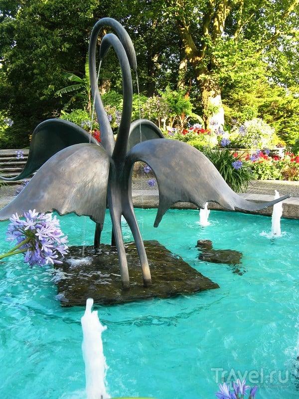 Майнау - цветочный рай / Германия