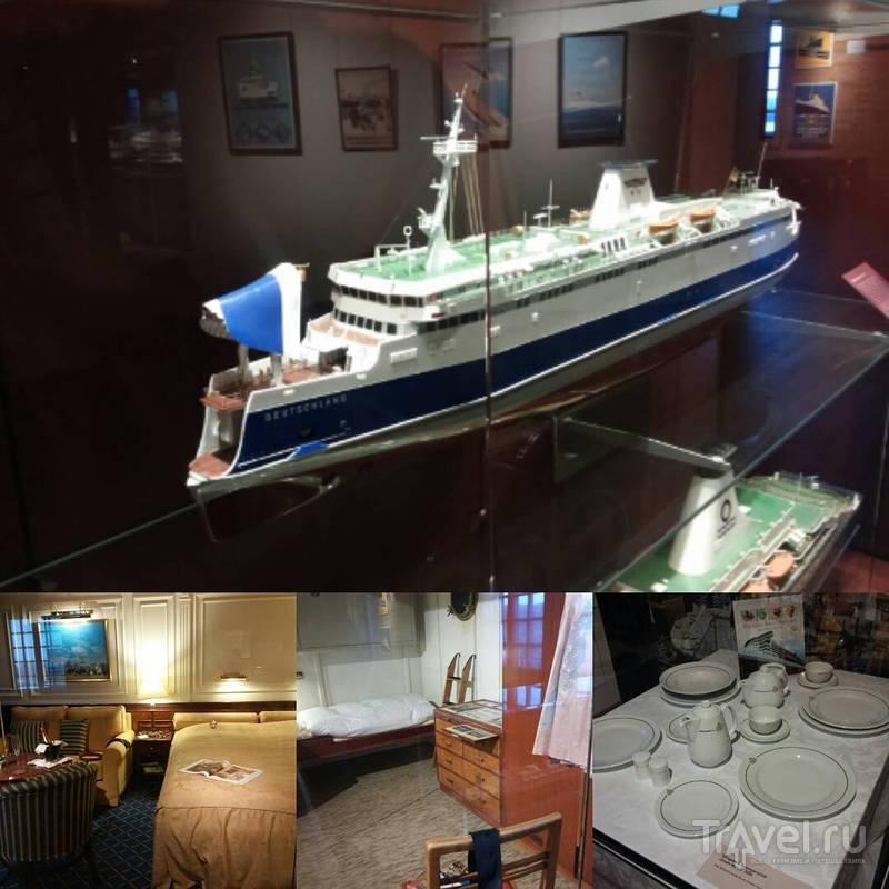 Десятиэтажный морской музей в Гамбурге / Германия