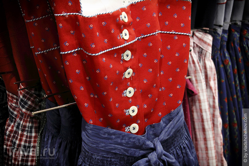 Магазин национальной одежды Trachten Werner, Mittenwald / Германия