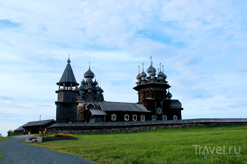Сокровище острова Кижи на Онежском озере / Россия